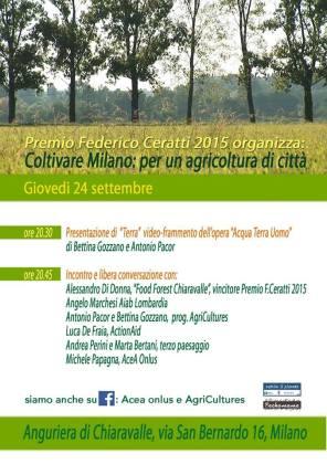 AgriCultures a Chiaravalle 24settembre15